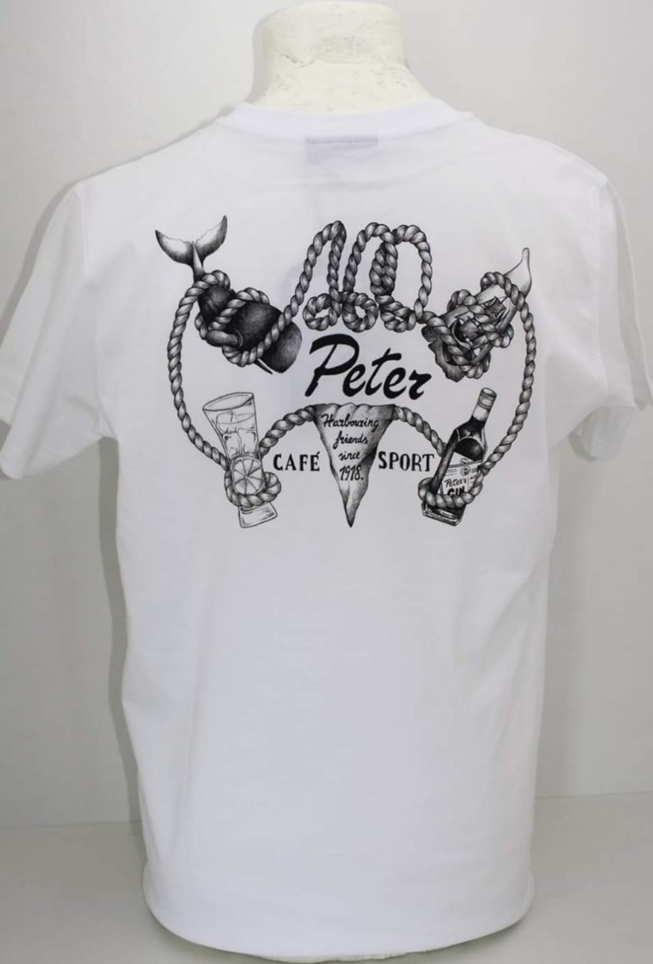 T-shirt 100 years Peter Cafe Sport